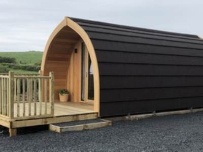 Luxury Glamping Pods at Moorside Glamping 4 person