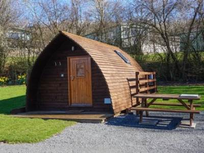 Lune River 1 Glamping Pod at Woodclose Park