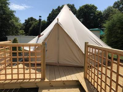 VIP Bell Tent at Brakes Coppice Park