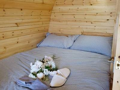 Poppy's Pod at Eden Grange Glamping