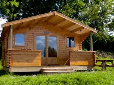 Glamping Cabin at Bucklegrove Holiday Park