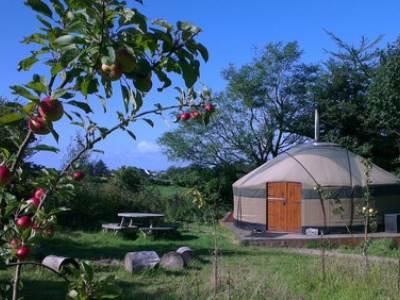 Monamore Yurt at Runach Arainn