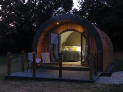 Luxury Pods at Millview Meadow