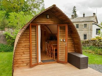 Pet Free Wigwam at Waterfoot Caravan Park