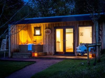 The Nook at The Roost Luxury Glamping