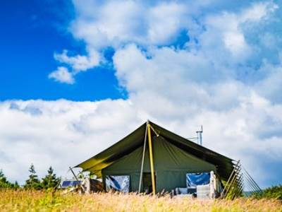 Ivy Glamping Lodge at Gartmorn