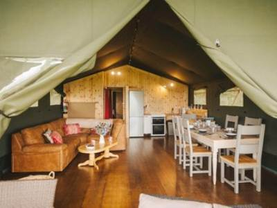 Burry Holms Safari Tent