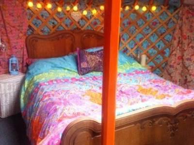 Hillside Stargazer Yurt