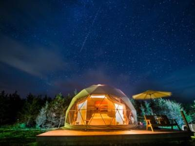 Geodesic Dome Lake Edge (4 berth)