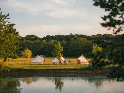 Stokes Farm Staycation Bell Tents