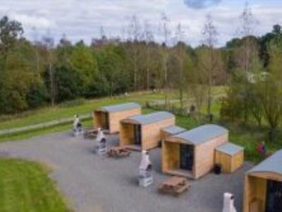 Bothie Glamping Pod at Barnsoul Caravan & Camping