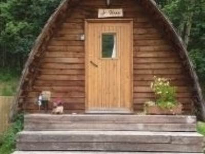 The Hare glamping pod at Honeybrook Holidays