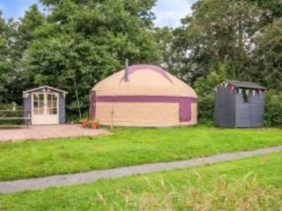 Maize Yurt at Wye Glamping - private facilities