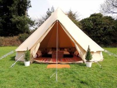 Luxury Couples Bell Tents