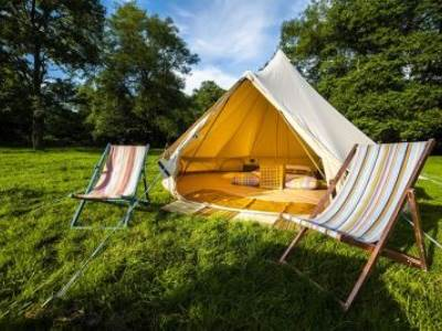 Luxury Double Bell Tents