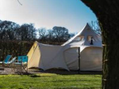 Manor Farm Knodishall Bell Tents