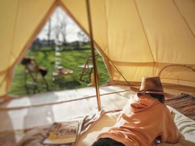 Lottie's Bell Tent