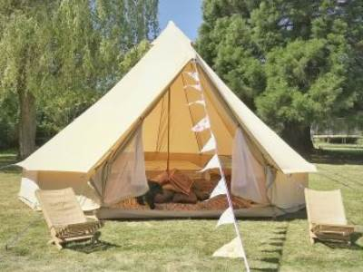 Badgers Bell Tent