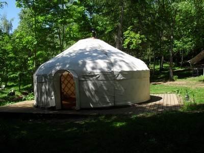 Little Owl Yurt at Woodlands Farm