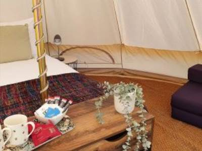 Old College Bell Tent