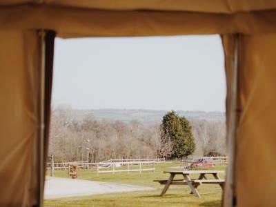 Rustic Glamping Yurt