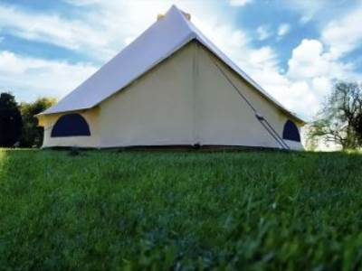 Luxury bell tent
