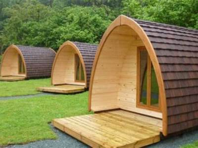 Waterside Glamping Pod at Waterside House Campsite