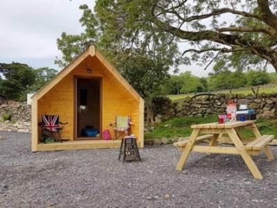 Moel Camping Pod at Tyn yr Onnen Farm