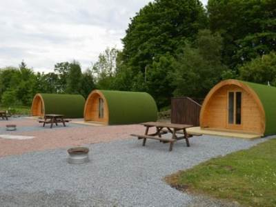 Barrhill Glamping Pod with Hot Tub