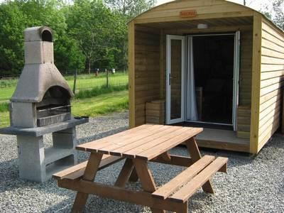 Bothy Glamping Pod at Barnsoul Caravan & Camping