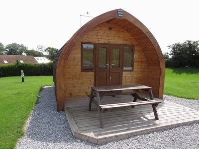 Deluxe Glamping Pod at Burton Constable