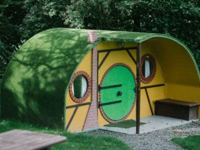 Hobbit House at Hillcroft Park