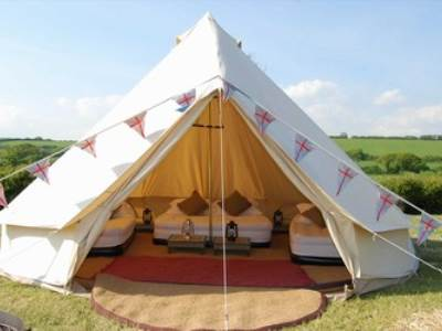 Higher Moor Farm Bell Tent