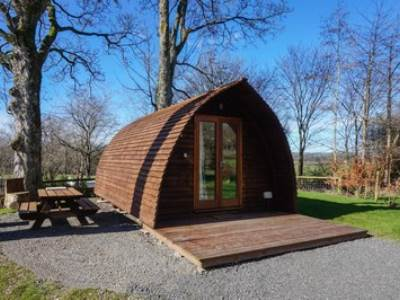 Lune River II Glamping Pod at Woodclose Park