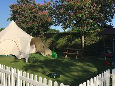 Lotus Belle Tent at Broadhembury