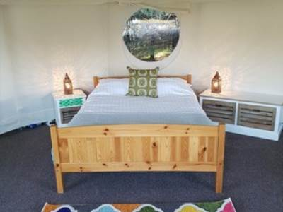 Yurt Glamping at Lordstones Campsite