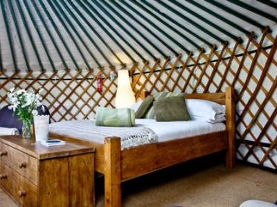 Cornwall Yurts at East Thorne Glamping