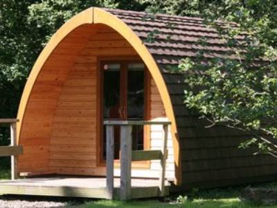Swaledale Glamping Pod at Buckden Camping