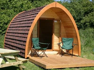 Glamping Pod at Otterington Park