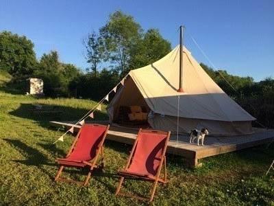 Robin-6 meter Bell Tent at Henfryn Farm