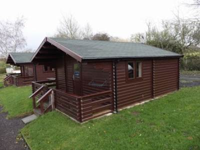 Glamping cabin at Croft Farm Waterpark