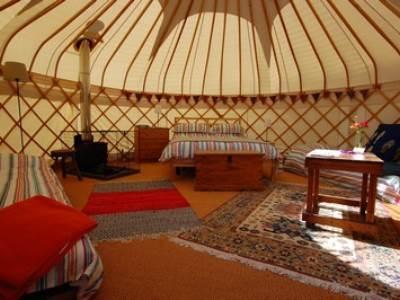 Valley Yurts:  Pippin, Bess and Bramley Yurts