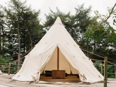 Tipi at Pinewood Park
