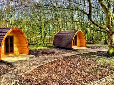 Woodhouse Farm Standard Glamping Pod