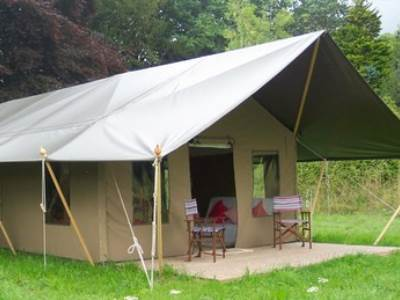 Mini Lodge Tent at Osea Leisure Park