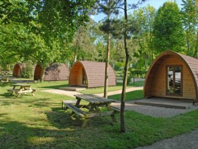 Cotswold View Small Glamping Pod