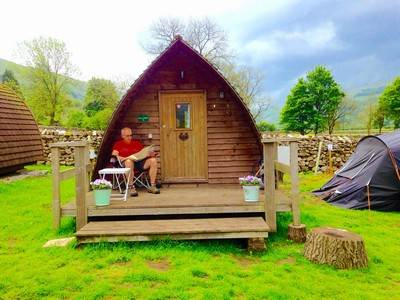 Galloway Glamping Pod at Buckden Camping