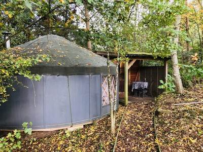 Yurt Yami at Cotswolds Camping At Holycombe