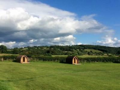 The Orchard Field Glamping Pods at Mains Farm