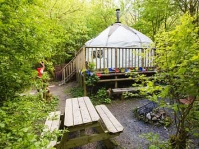 The Bentwood Yurt at Larkhill Tipis and Yurts